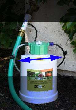 Ez Flo Injectors Let You Pour In Your Favorite Fertilizer