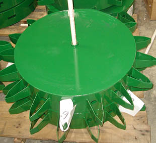 Standard Fixed Wheels For Water Wheel Transplanter With