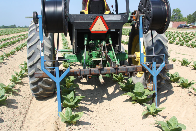 single injection tool. injects drip tape, even on crops already, Garten ideen