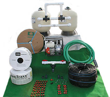 2 To 3 Acre Kits With Pentair Media Sand Filter Pump