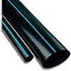 "1"" x 250' Blue-Stripe Poly Tubing Mainline. POL010 250"